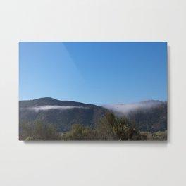 Solvang Morning Mist Metal Print
