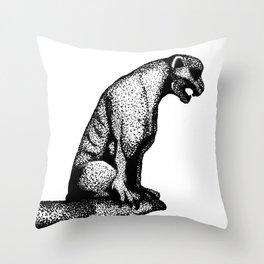 Gargoyle's Pet Throw Pillow
