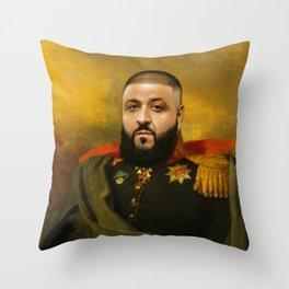 DJ Khaled Classical Painting Throw Pillow