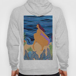 Eve at the beach Hoody