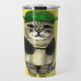 Shreky Cat Travel Mug