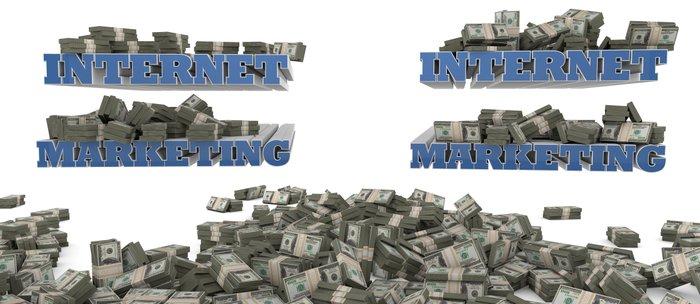 Internet Marketing - Success, Money and Motivation Coffee Mug