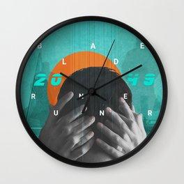 Blade Runner 2049 Sync Wall Clock