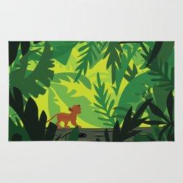 Lion King - Simba Pattern Rug
