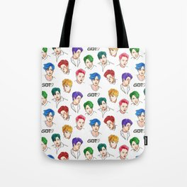 GOT7 Colourful Tote Bag