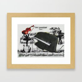 The Musician, the Ballerina, the Nurse, and the Writer Framed Art Print