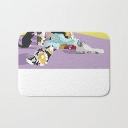 Cat Sitter Bath Mat
