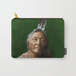 Sitting Elk - Crow Indian Carry-All Pouch