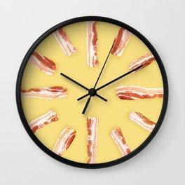 Bacon, Raw Wall Clock