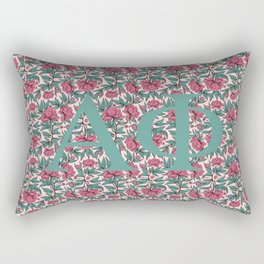 Alpha Phi Roses Rectangular Pillow