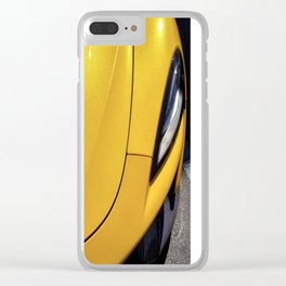 Volcano Yellow McLaren 570S Clear iPhone Case