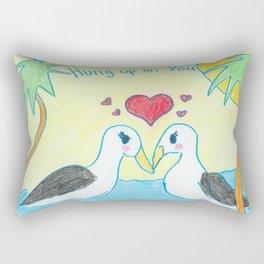 Hung Up On You Rectangular Pillow