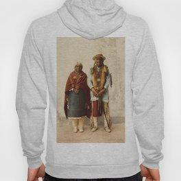 Native American Couple Hoody
