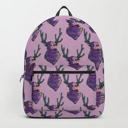 alien deer ufo Backpack