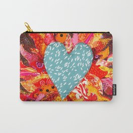 Love Over Fire Carry-All Pouch