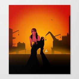 Quiet Minimalist Poster Canvas Print