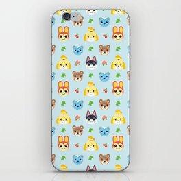 Animal Crossing - Blue iPhone Skin