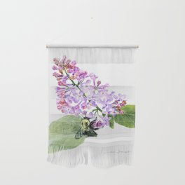 Lilac Love by Teresa Thompson Wall Hanging