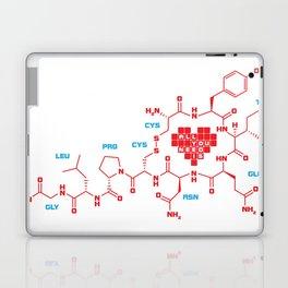 The chemistry of love Laptop & iPad Skin