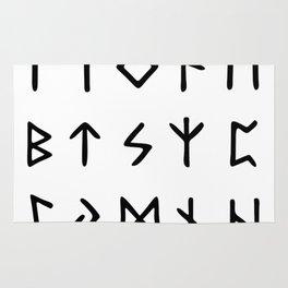 Viking Runes Rug