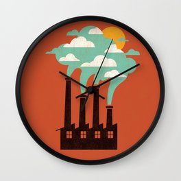 The Cloud Factory Wall Clock