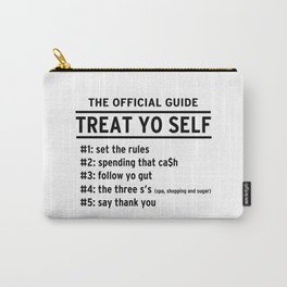 Parks and Recreation - TREAT YO SELF Carry-All Pouch