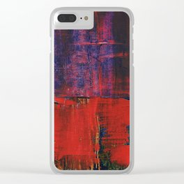 Simon Carter Painting Tyr's River Clear iPhone Case