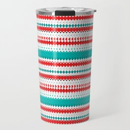 Rombo Pattern Travel Mug
