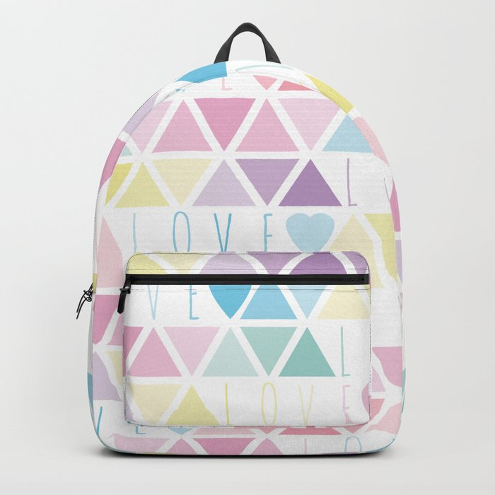 Valentine's Day - Love triangle Backpack