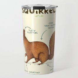 Anatomy of a Squirrel Travel Mug