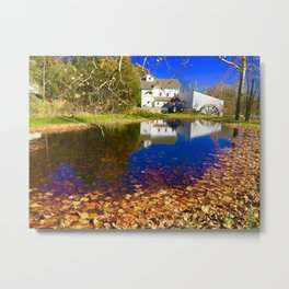 Bright Fall Day Metal Print