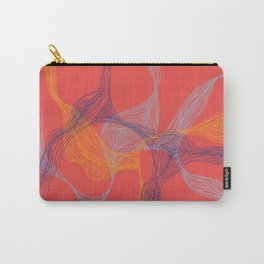Lost in Lines [RED] Carry-All Pouch