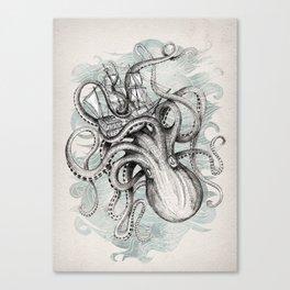 The Baltic Sea - Kraken Canvas Print