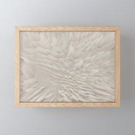 Just white Framed Mini Art Print