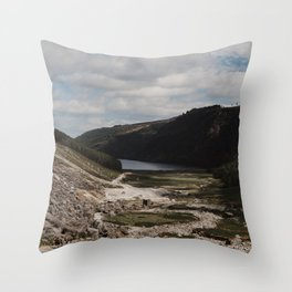 Hiking the Wicklow Mountains Throw Pillow