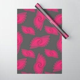 hypnotized - fluid geometrical eye shape Wrapping Paper