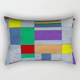Mid-Century Modern Art - Rainbow Pride 1.0 Rectangular Pillow