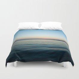 Subtle sunset Duvet Cover