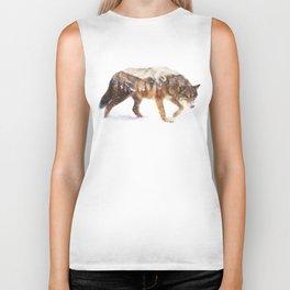 Arctic Wolf Biker Tank