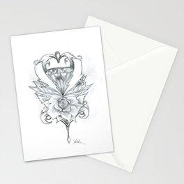 Lightning Crest Stationery Cards