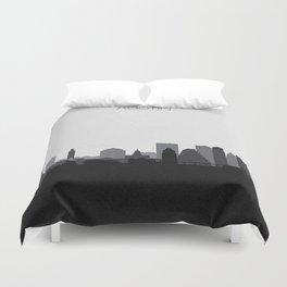 City Skylines: Austin (Alternative) Duvet Cover