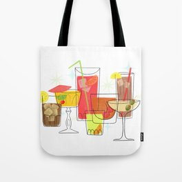 Swanky Summer Coolers Tote Bag