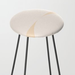 Abstract Geometric 01 Counter Stool