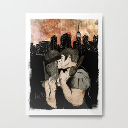 First we take Manhattan Metal Print