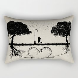 together for love Rectangular Pillow