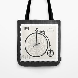 Penny Farthing 1891 Tote Bag
