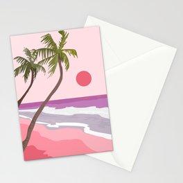 Tropical Landscape 01 Stationery Cards