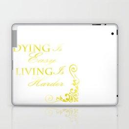 Hamilton: Dying is Easy Laptop & iPad Skin
