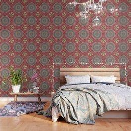 Flame mandala Wallpaper