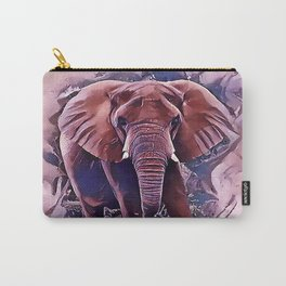 The African Bush Elephant Carry-All Pouch